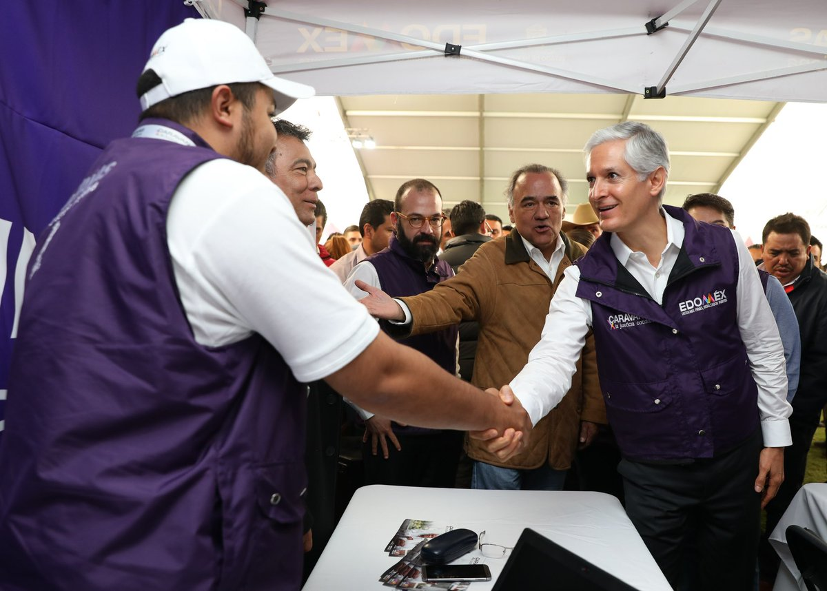 Alfredo Del Mazo On Twitter En Las Caravanasxlajusticia