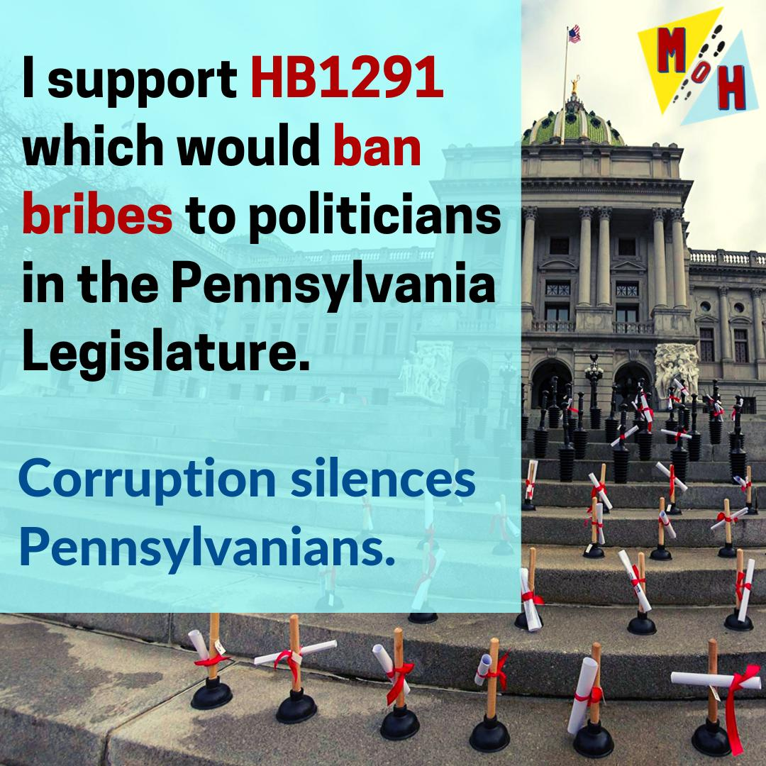 Share if you support HB1291! Together, we WILL #endPAcorruption!