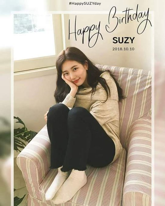 Happy bday Bae Suzy   Cant wait the episode of vagabond   Yeheyyy