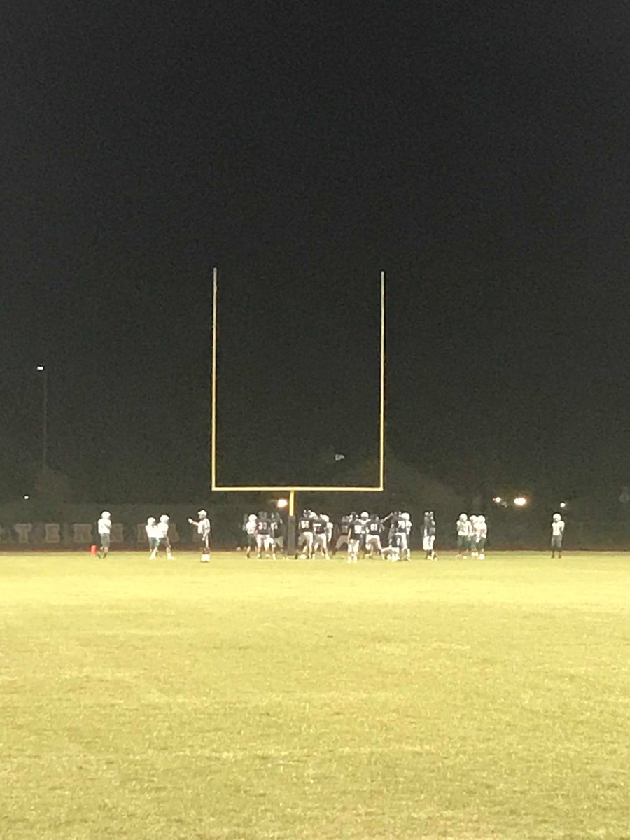 Freshman football, COYOTES working tonight, team firing on all cylinders. Go COYOTES GO!!