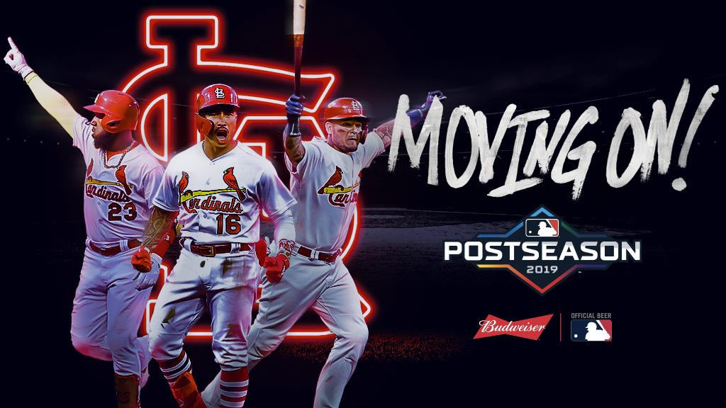 #TimeToFly into the NLCS. #CLINCHED