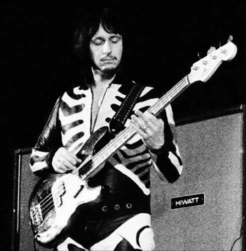 Happy birthday to john entwistle, and  john entwistle only. i do not know john l*nn*n do not mention him to me