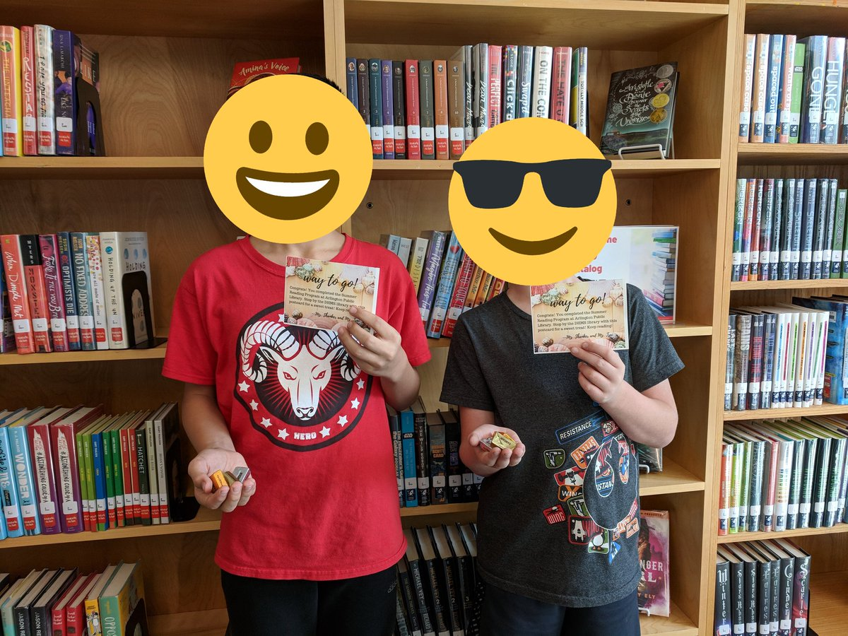 We celebrated all of our students who completed the <a target='_blank' href='http://twitter.com/ArlingtonVALib'>@ArlingtonVALib</a> Summer Reading Program. Way to go! <a target='_blank' href='http://twitter.com/APSLibrarians'>@APSLibrarians</a> <a target='_blank' href='http://twitter.com/EllenSmithAPS'>@EllenSmithAPS</a> <a target='_blank' href='http://twitter.com/AnneWhipp'>@AnneWhipp</a> <a target='_blank' href='https://t.co/0bOEevQQhP'>https://t.co/0bOEevQQhP</a>