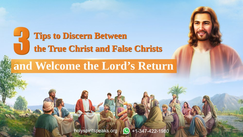 3 Tips to Discern Between the True Christ and False Christs and Welcome the Lord's Return #Christ #truth #Christian #WorshipGod #GodsWord #WorshipGod #Church #AlmightyGod #HolySpirit   https://www. facebook.com/65747710434128 9/posts/2576634335758880/  … <br>http://pic.twitter.com/l7WR9QRnOY