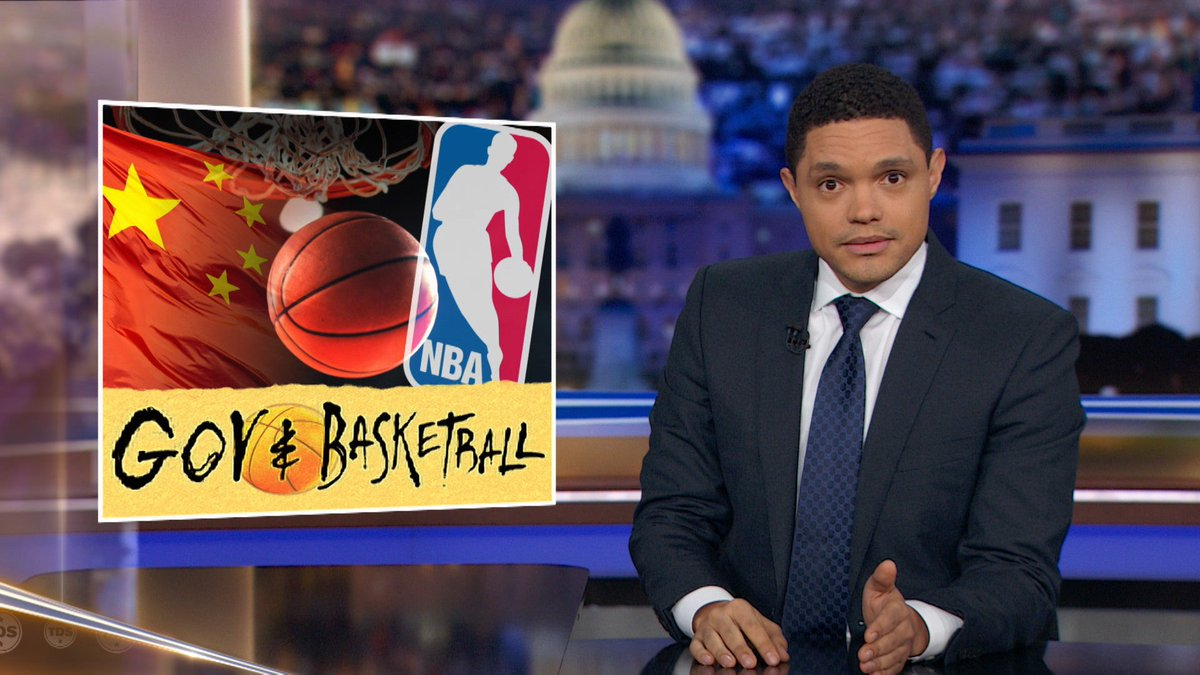 China is going to war with the NBA over a pro-Hong Kong tweet. Trevor and @ronnychieng weigh in: