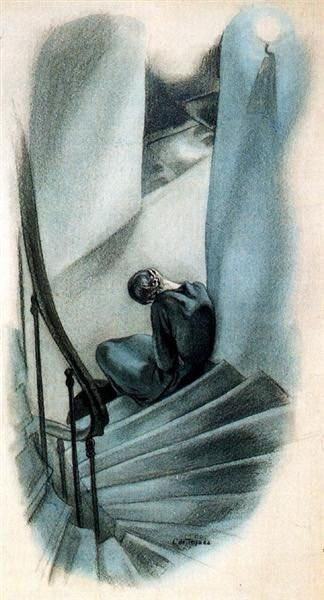 Razors pain you Rivers are damp Acids stain you And drugs cause cramp Guns aren't lawful Nooses give Gas smells awful You might as well live from Enough Rope by Dorothy Parker #mentalhealth #WorldMentalHealthDay La soledad | Loneliness | 1927 Carlos Sáenz de Tejada