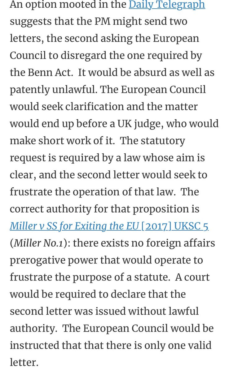 """@DavidMuttering @Scott_Wortley @Peston @bbclaurak The lawfulness of the """"two letters"""" gambit was addressed yesterday by @jeff_a_king: ukconstitutionallaw.org/2019/10/09/jef…"""