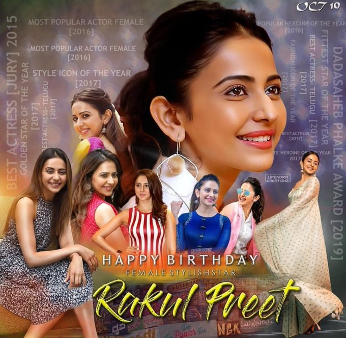 Happy Birthday Lady Stylish Star Rakul Preet Singh