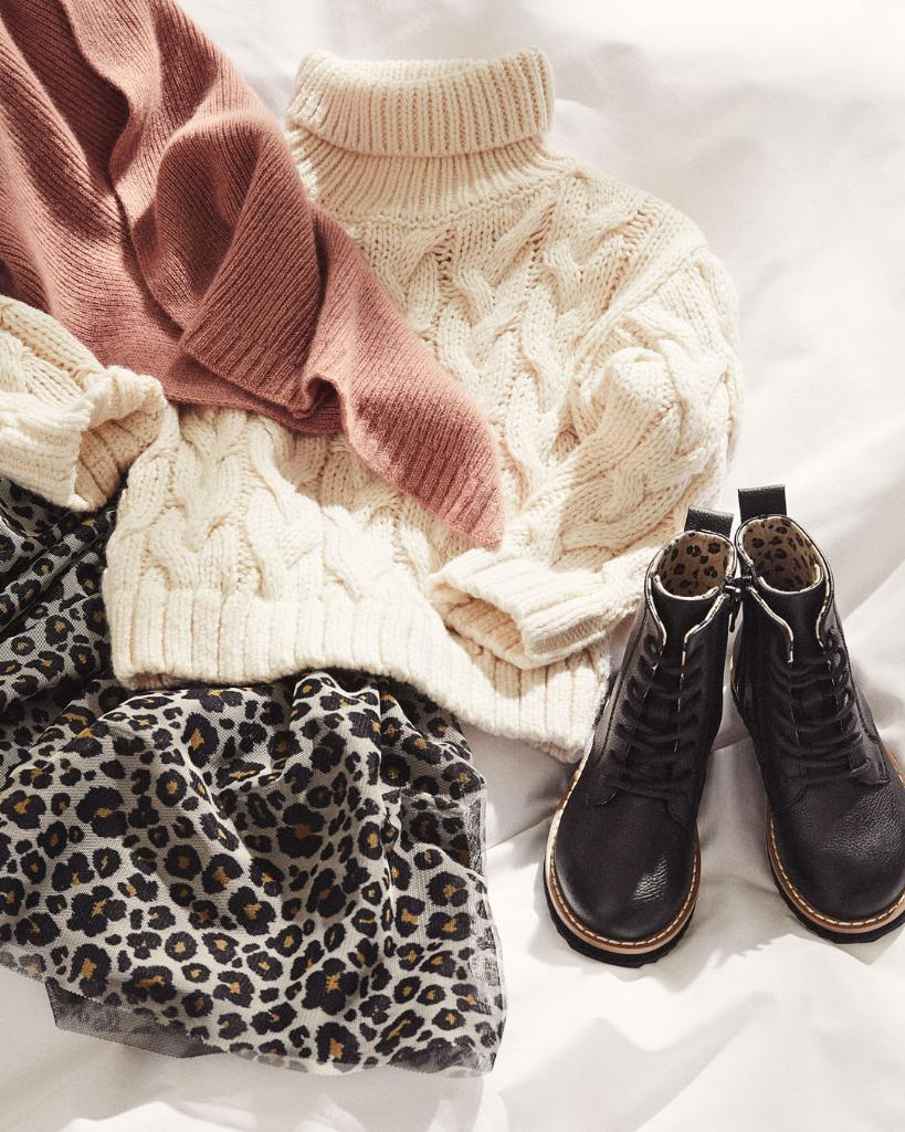Warming polos and durable boots — our new kidswe...