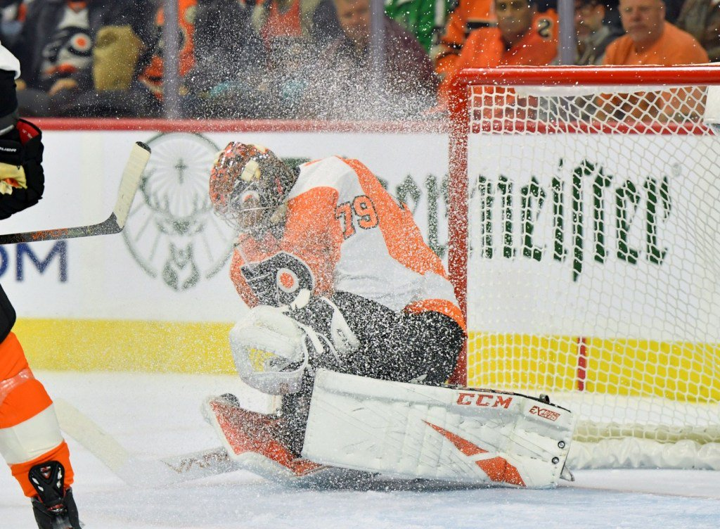 Instant analysis: Carter Hart's first career shutout lifts Flyers to 4-0 win over Devils