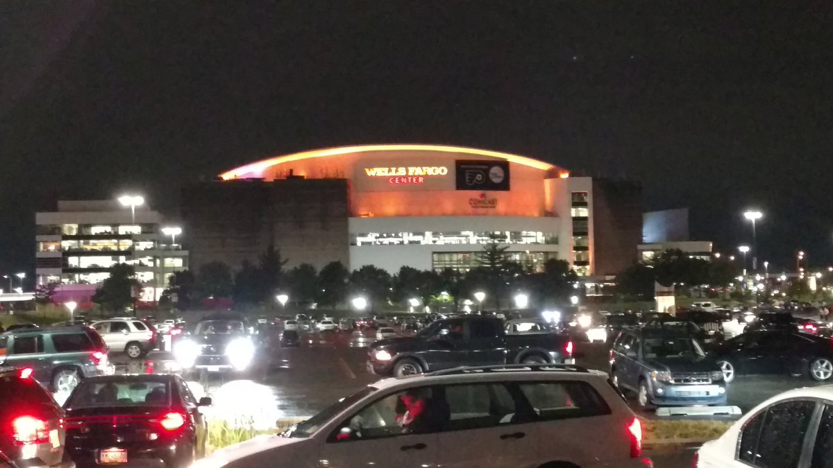 Good Night from South Philly, #Flyers Shutout Devils in Home Opener #NJDvsPHI #NHLFaceOff #FlyOrDie
