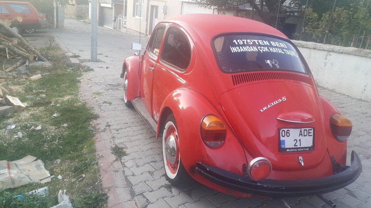Kiminin hayali,  kiminin düğün arabası biz ona çocukken tosbağa derdik 🤗🙋🌻 #nostalji #vosvos