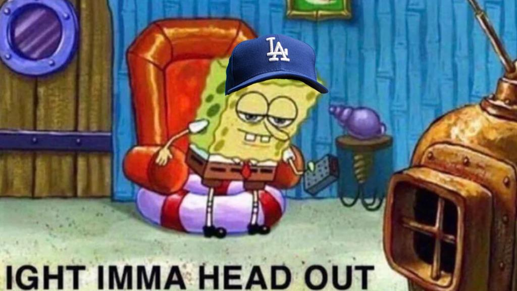 Dodgers fans after that Howie Kendrick grand slam.