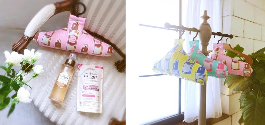 """ラボンのオシャレ着用洗剤""""シャレボン""""から『ふくらむシャレボンハンガー付きセット』が発売!"""
