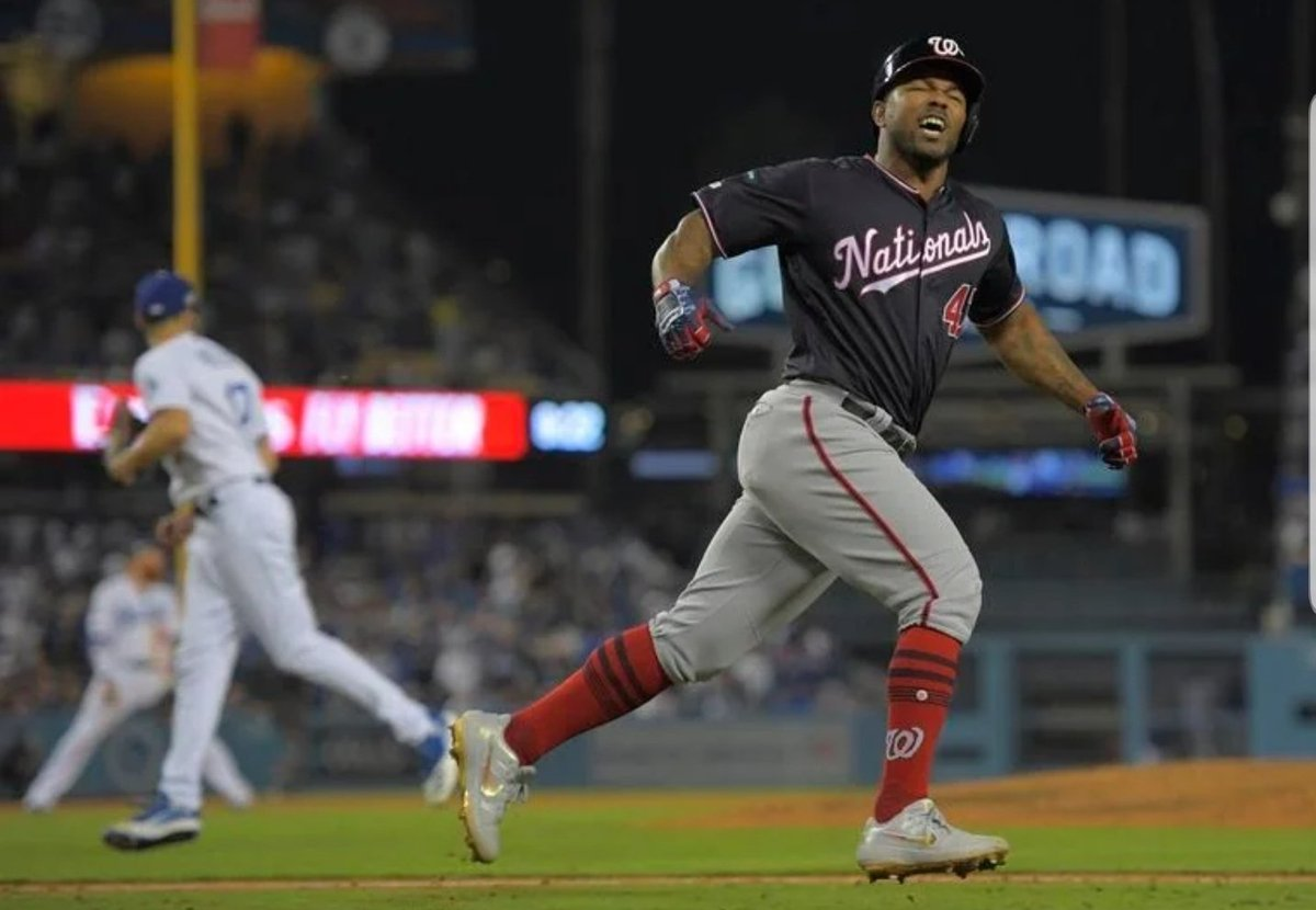 Former Dodger Howie Kendricks' 10th inning Grand Slam completes the Washington Nationals (3-2) comeback as they defeat the Los Angeles Dodgers (2-3) 7-3 in Game 5 of the NLDS to advance to the National League Championship Series against the St. Louis Cardinals. #LADvsWSH