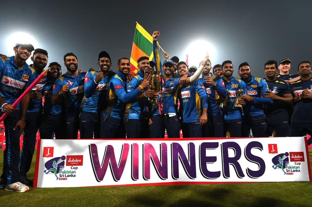 T20I Winners