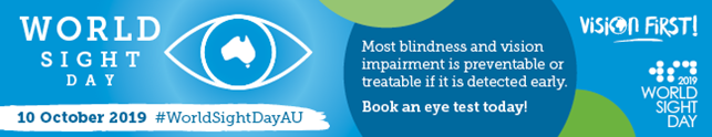 On this #WorldSightDayAU, @DiabetesVic encourages all Victorians over 40 to put their #VisionFirst and book an eye test today! This is especially important for people living with diabetes... #KeepSight @Vision2020Aus @EyeResearchAus  @DiabetesAus