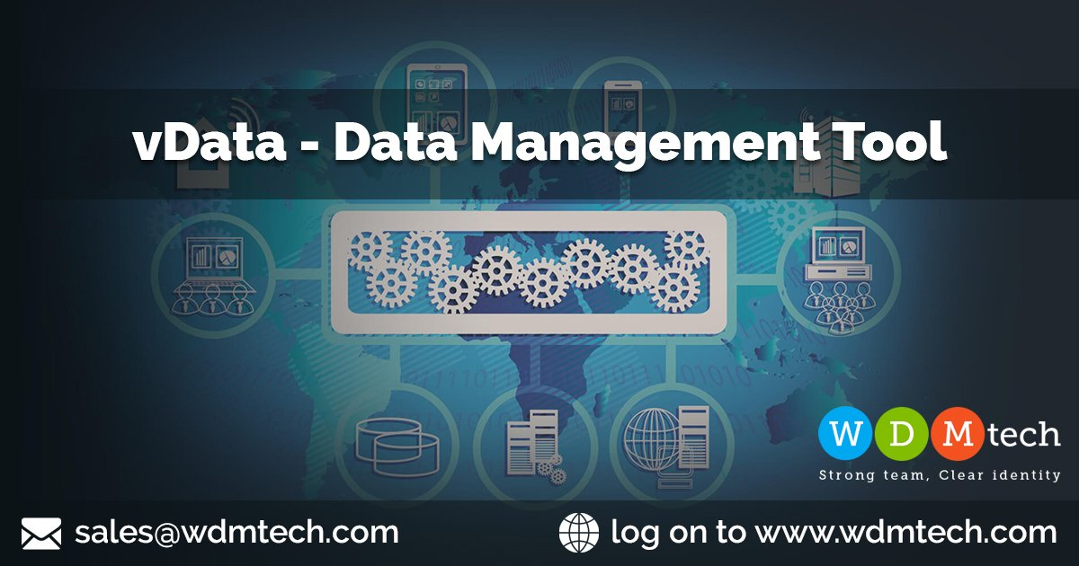 https://www. wdmtech.com/vdata-data-man agement-tool   …  Data has got the status of an asset in today's competitive business world and almost all companies are aggregating it from as many sources as possible.#DataManagementTool #DataImportTool #Datamigrationtools #JoomlaImportExport #JoomlaExtension<br>http://pic.twitter.com/i9X947pMfk