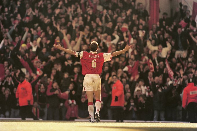 Happy Birthday Tony Adams  255 PL Appearances  115 Clean Sheets  12 Goals