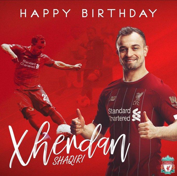Happy Birthday    Xherdan Shaqiri
