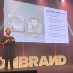 An interesting point about the trend of using mushroom derived mycelium to create plastic alternatives 🍄 #OnBrand19