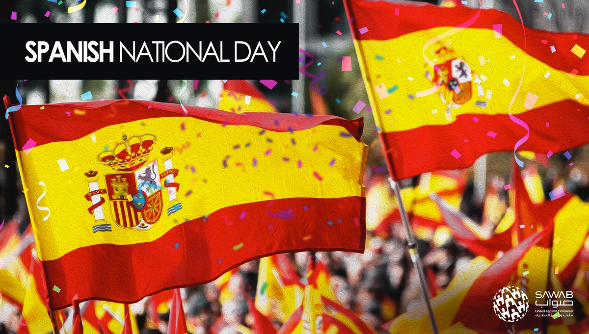 We extend  warm congratulations to the people of #Spain on the occasion of #NationalDay  #NationalPride  #SpanishNationalDay