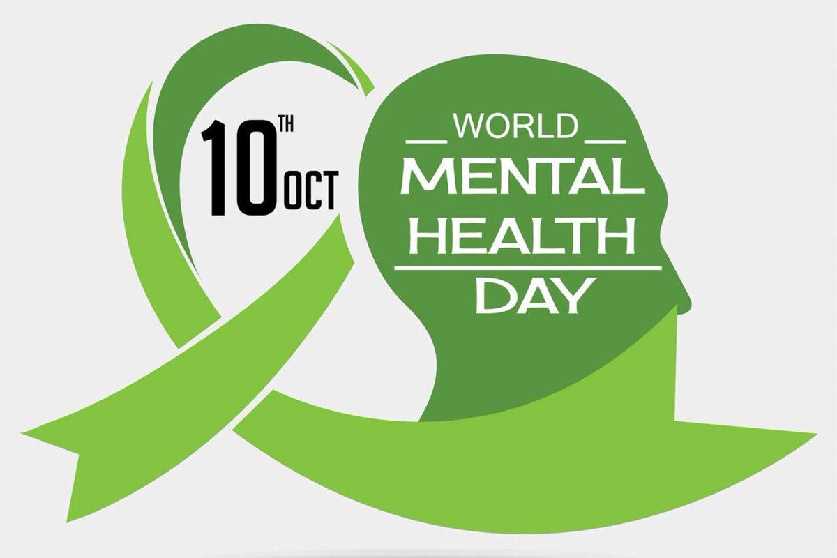Today is World Mental Health Day. Take time to talk to your friends & family, it might just make a difference! #WMHD2019 https://t.co/YnChxXm73Z