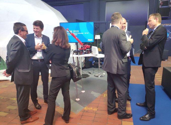Auf der SAP NOW Wien blickt Atos heute auf die Zukunft im Industriebereich, in...
