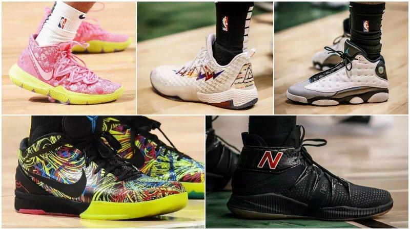 球鞋匯 | NBA球员今日球鞋上脚:Leonard的NB新配色,Kobe新鞋要來啦!-Haters-黑特籃球NBA新聞影音圖片分享社區