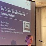 Image for the Tweet beginning: Ellen v. Zitzewitz @BMWi_Bund giving