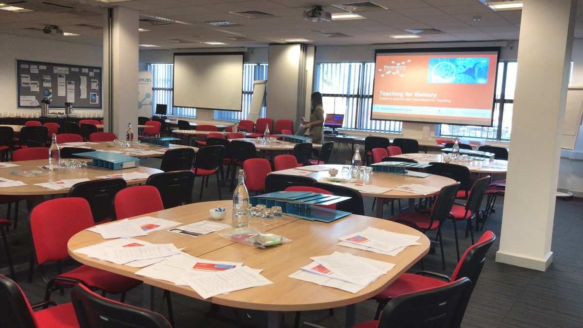 All set up and ready to go for the @DerbyOA Teaching for Memory programme 😍