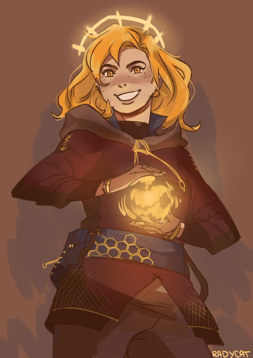 """Aasimar Sorcerer aerith tops tifa on twitter: """"redesigned my aasimar sorcerer"""