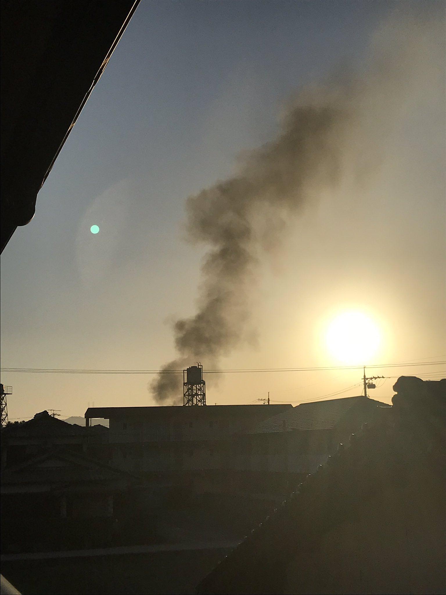 画像,火災起きてます https://t.co/i1oQYggzot。