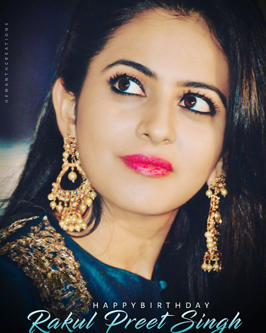 Happy Birthday princess Rakul Preet Singh