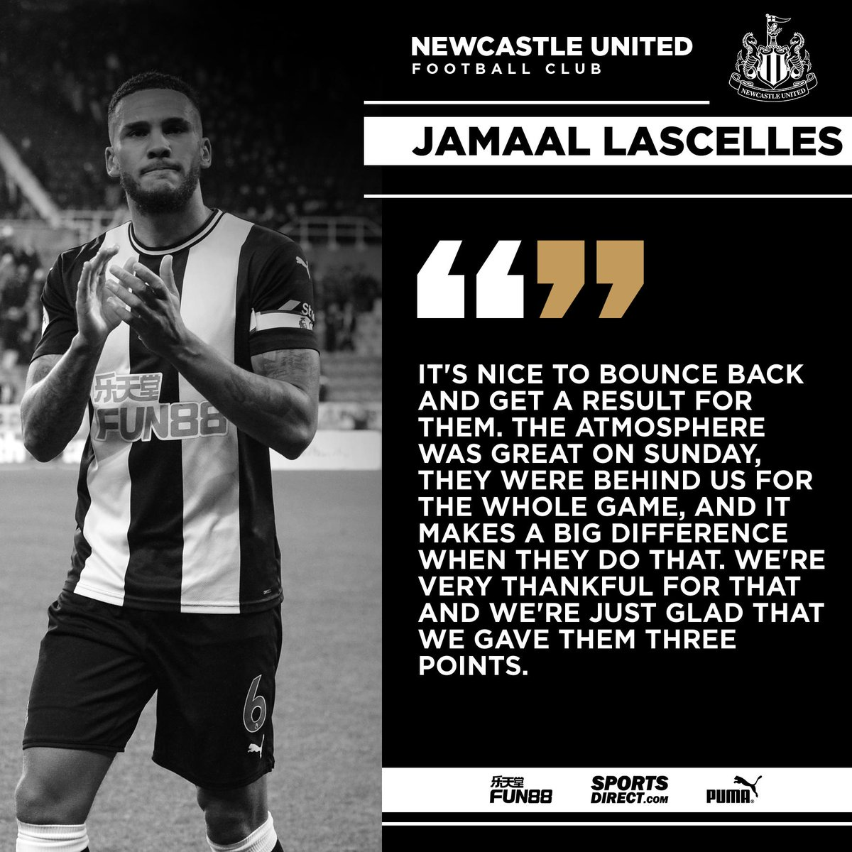 Newcastle United FC @NUFC