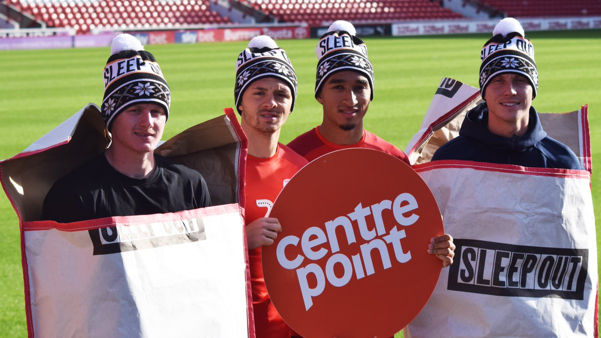 Today is #WorldHomelessnessDay. Barnsley Football Club will once again host a @centrepointuk Sleepout event in 2019, to raise further awareness within our community. ➡️ bit.ly/OakwellSleepou… @bfccommunity