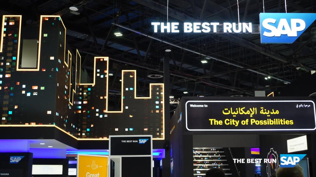 GITEX is almost over! It's your last chance to visit the SAP booth in Hall 6 this @GITEXTechWeek and to explore the City of Possibilities!