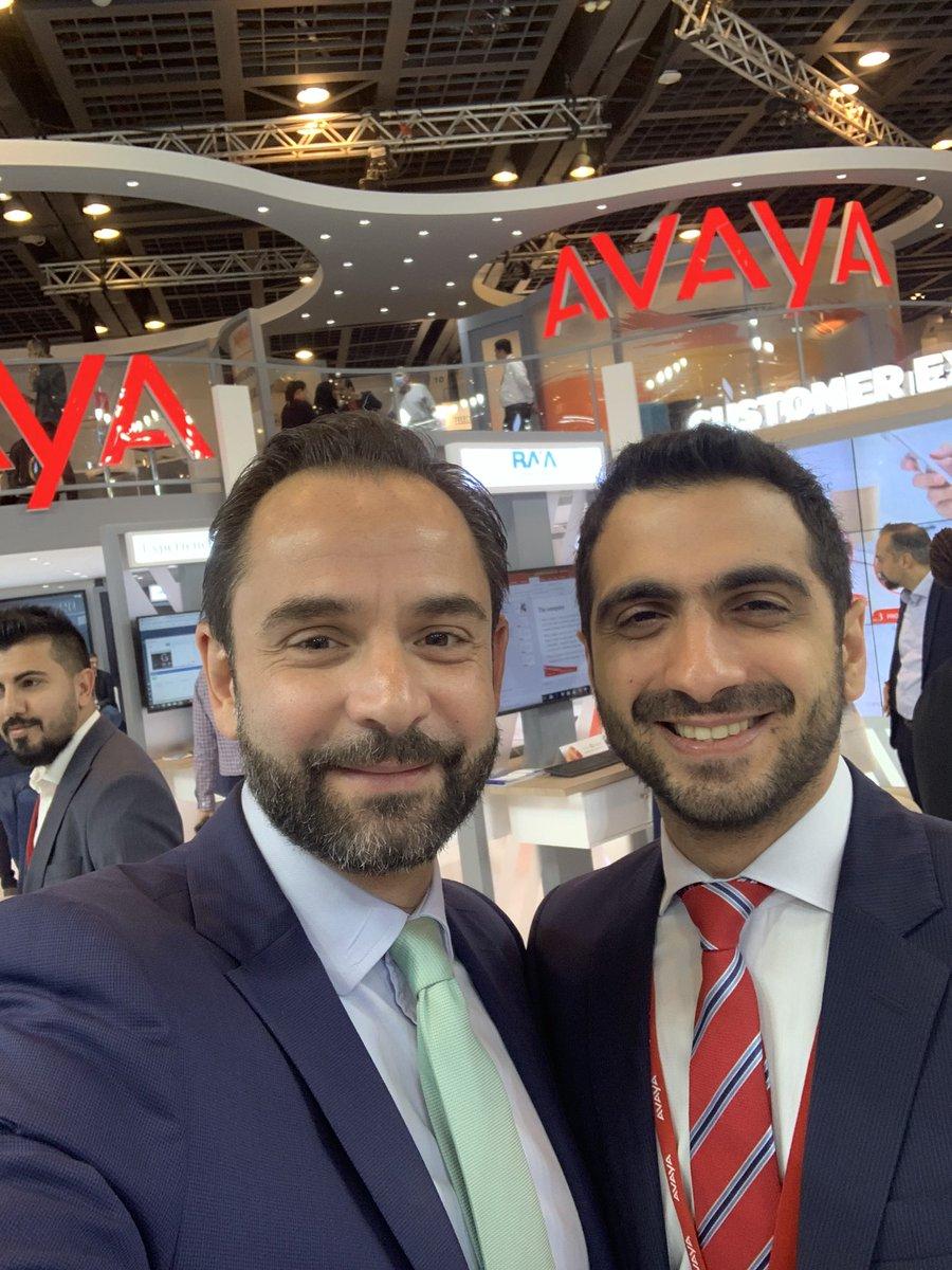 Last day of @GITEXTechWeek amazing presence from customers and partners...thank you all for your trust in @Avaya @Avaya_MEA #artofexperience @johnhajjar