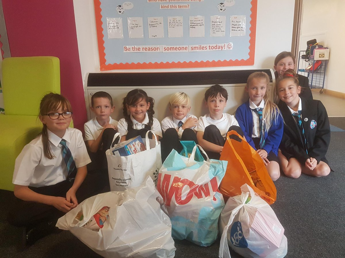 Thank you for all of your Harvest donations. The charity 'Care' were extremely grateful for all the food received, and will be given to families in our local area who are in need of support.