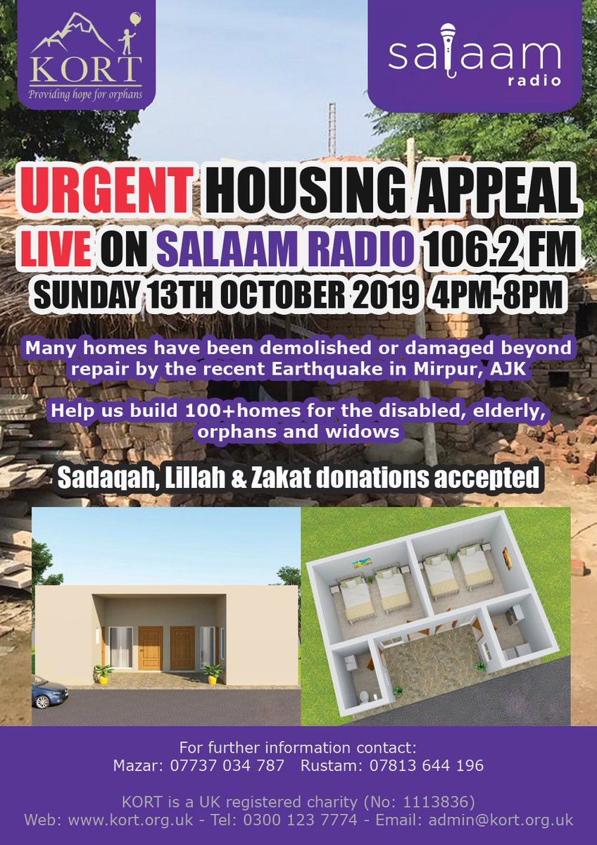 Kort On Twitter Tune In To Salaam Radio Peterborough 106 2 Fm