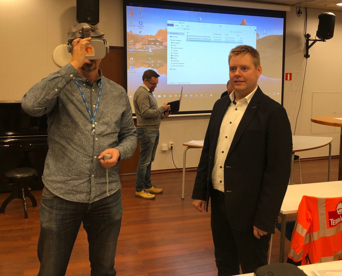 test Twitter Media - Does the education for construction industry keep up with the digitalization? @CTRLReality CEO Teijo Lehtonen shared current possibilities and benefits of virtual reality in building and maintenance. #Virtualreality  #Kumppanuusfoorumi #Vskumppanuus https://t.co/R7bsZQq0ND