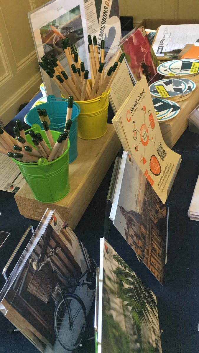 Its the last day of @OxUniStudents #freshersfair! Find us in Room 11 to get involved with Sustainability at Oxford & pick up some goodies! #welcometooxford