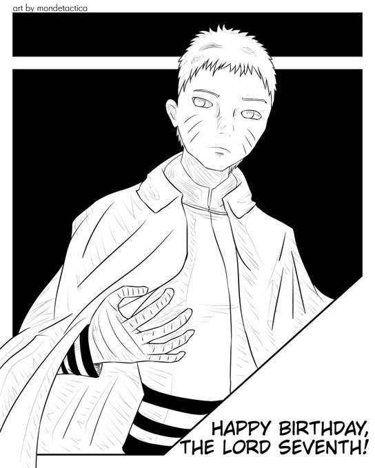 Day 10: Naruto Uzumaki Happy birthday, the Lord Seventh!