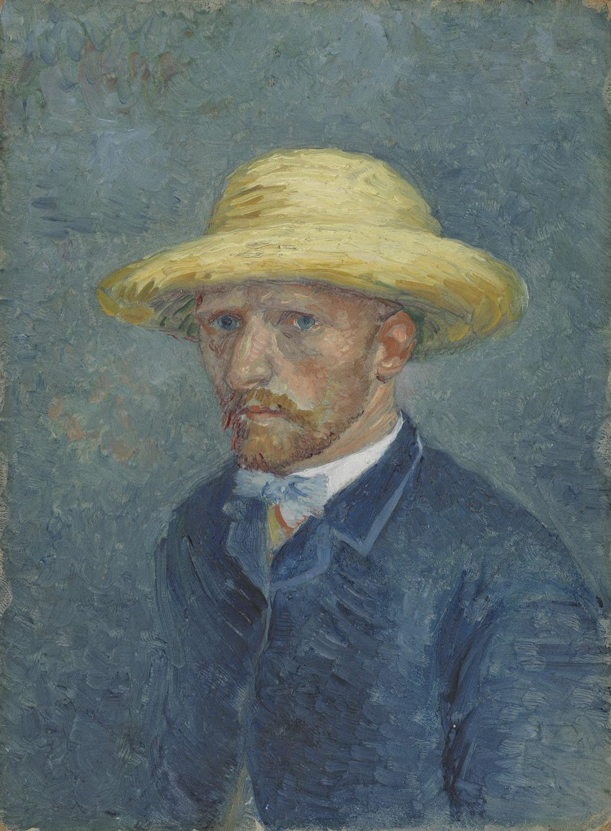 'I received sad news today. Vincent is gravely ill. I dont know what's wrong, but I shall have to go there as my presence is required', wrote Vincent's brother Theo. Two weeks later, Vincent left the hospital. vangogh.nl/dVSa50wqtPl #WorldMentalHealthDay #VincentvanGogh
