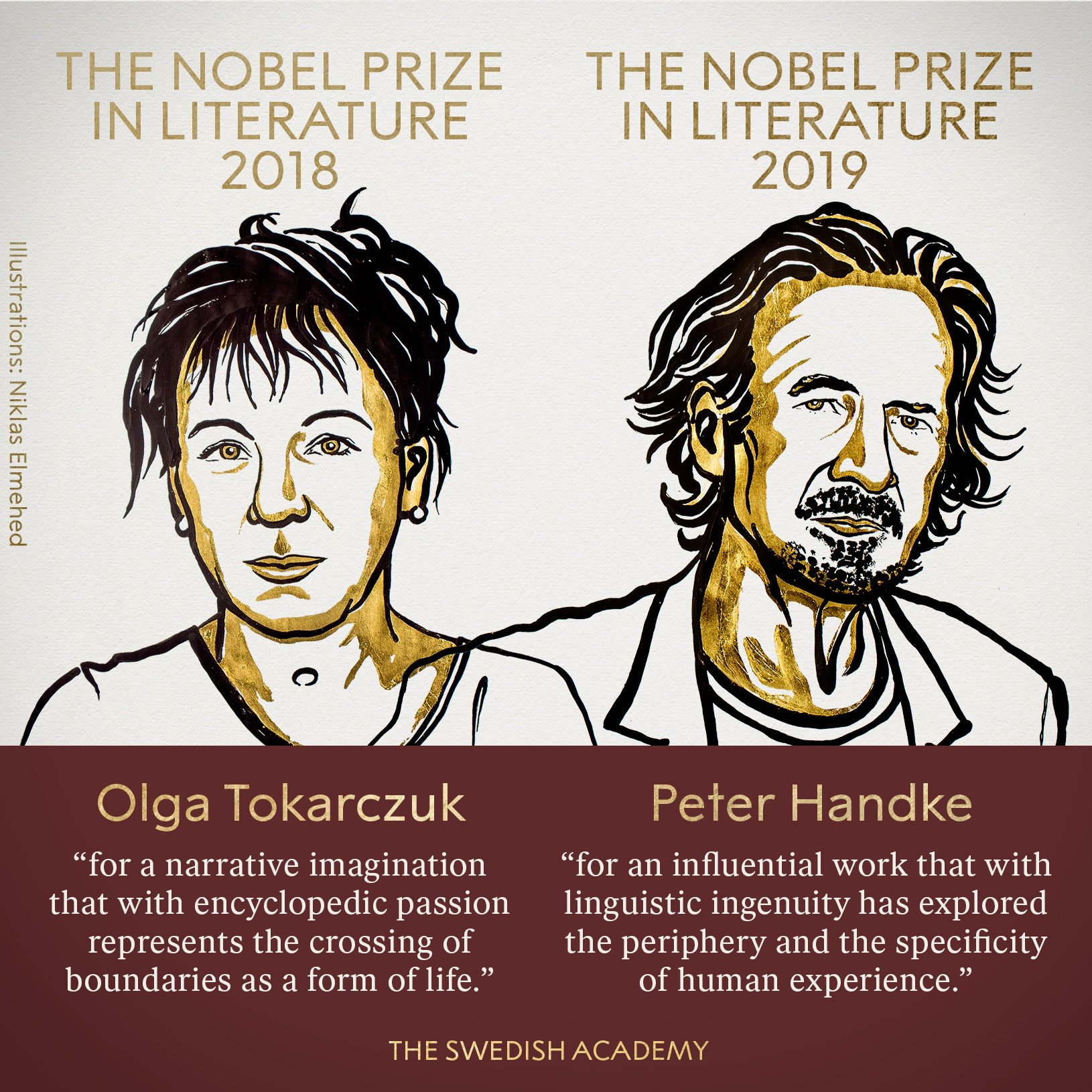 The Nobel Prize on Twitter