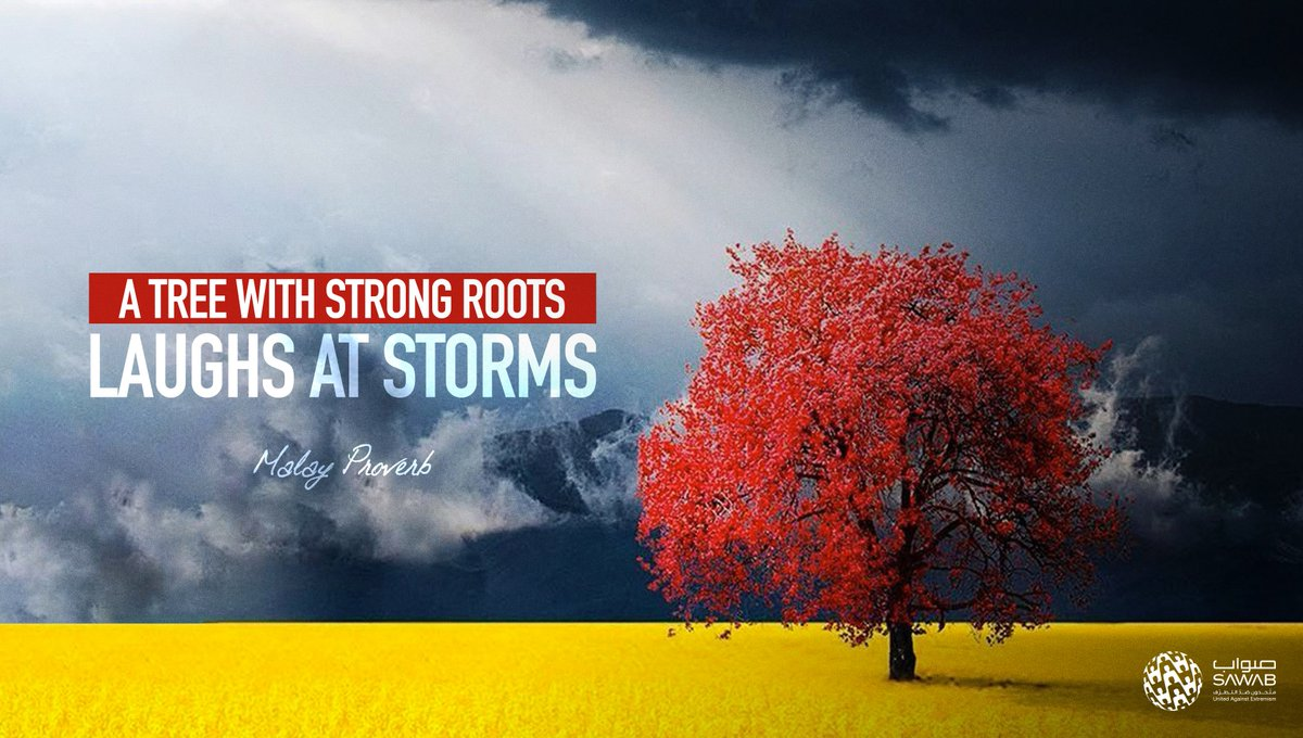 Staying rooted to your values, identity and family will protect you from the storms of life.  #YourFamilyIsYourLife