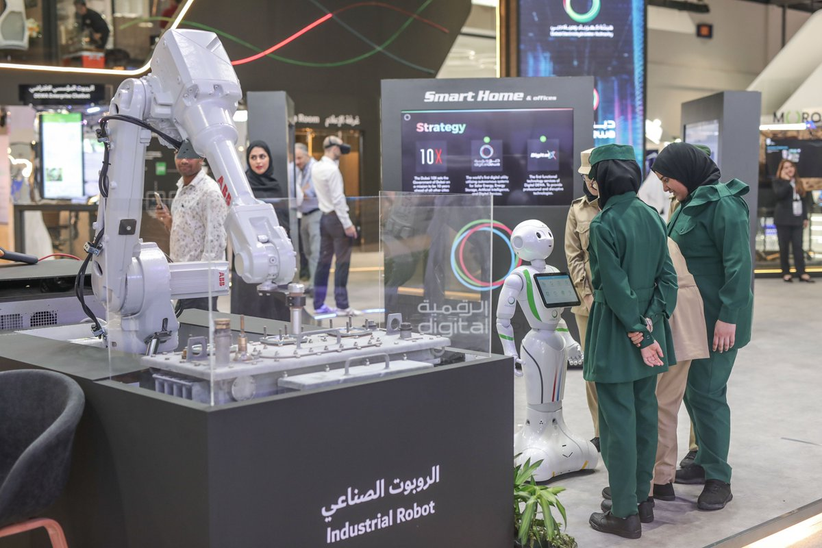 Last chance to check out @DEWAOfficial stand at #GITEX2019
