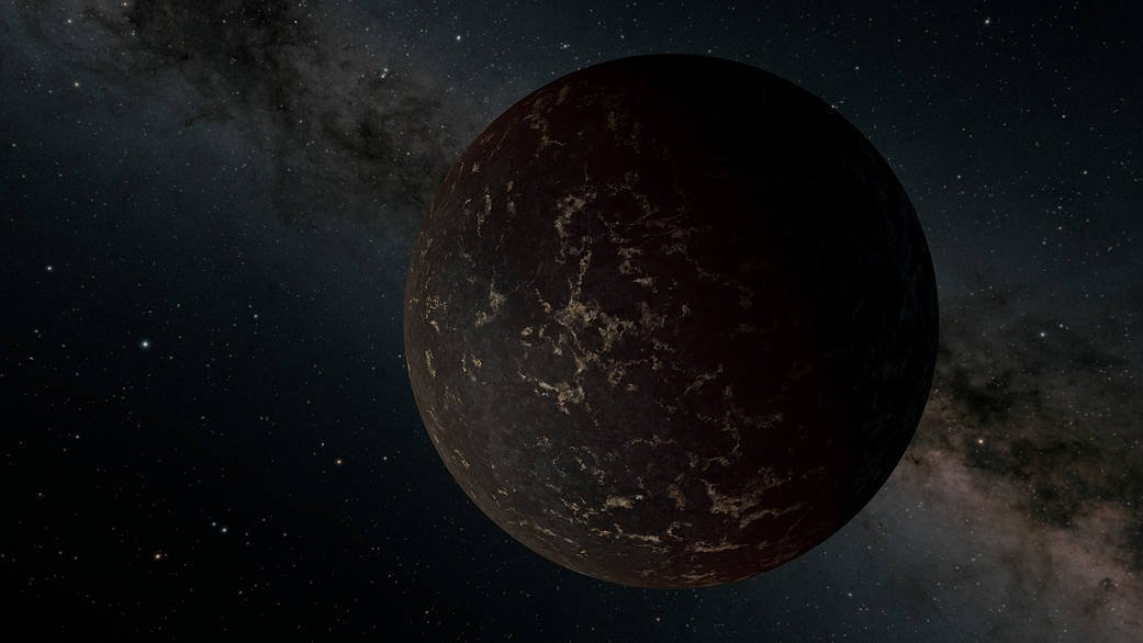 #ICYMI This artists rendition of the planet LHS 3844 b was featured as the @NASA Image of the Day on October 8th. This likely rocky planet was one of the first discovered by @NASA_TESS and was also later studied by @NASAspitzer. Read more here: nasa.gov/image-feature/…