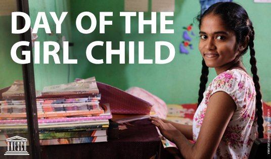 Happy #DayoftheGirl! Today & every day, join us to support all girls across the world to keep chasing their dreams through #education. We will continue our fight for #HerEducationOurFuture until we have achieved #GenderEquality everywhere: on.unesco.org/DayoftheGirl