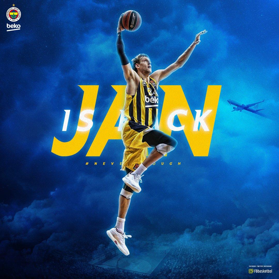 Jan is back! ✈️ #NeverEnough